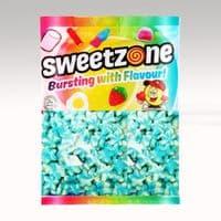 SWEETZONE FIZZY BLUE & WHITE STARS 1kg